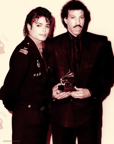 Michael Jackson and Lionel Richie ♥♥
