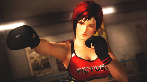 Dead 또는 Alive 바탕화면 called Mila (New character in DOA5)