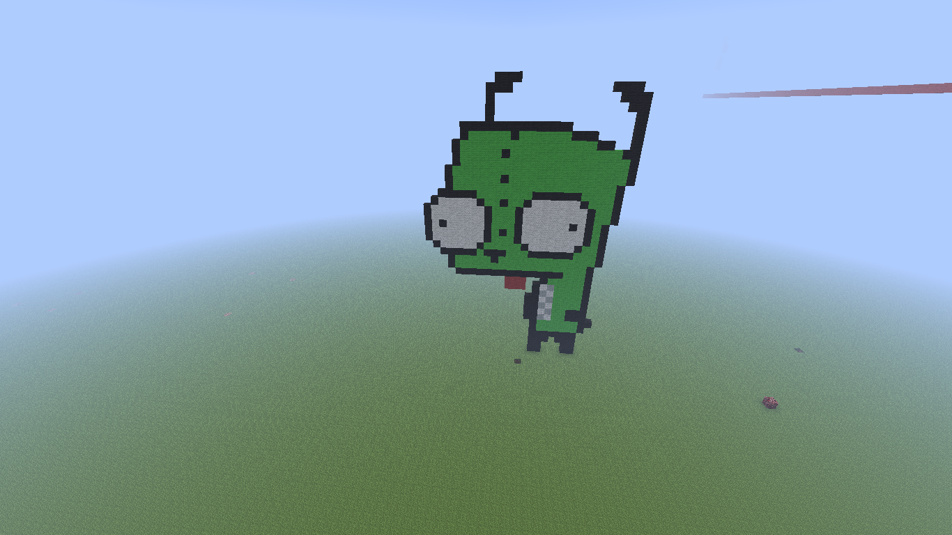 Minecraft Pixel Art! Minecraft!!!
