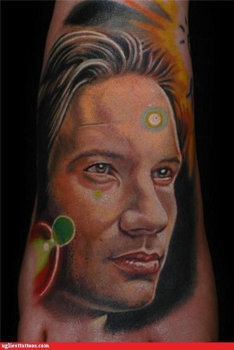 Mulder tattoo