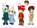 More OCs... Alan, Elsbeth, Ferdinand & Lotharia