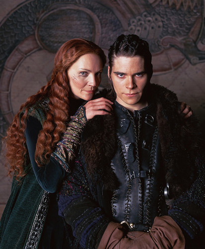 Morgause and Mordred
