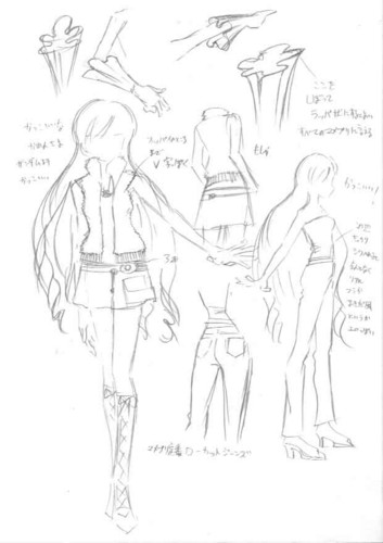 Mermaid Melody Hintergrund containing Anime entitled My Drawing Karen 2