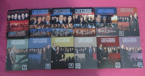 Law and Order SVU wallpaper entitled My SVU DVD Collection
