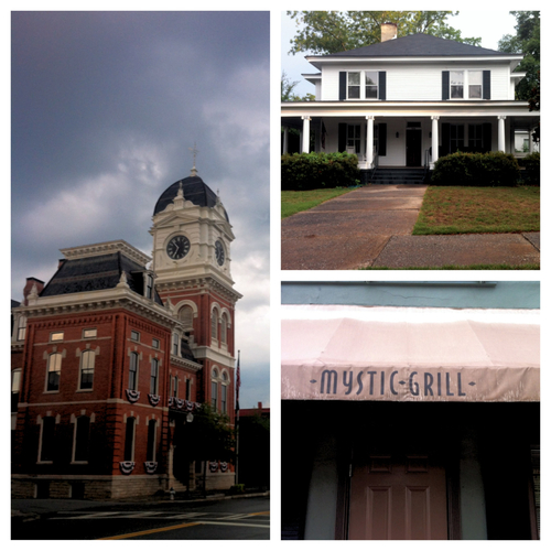 Mystic falls wallpaper probably with a school called Mystic Falls