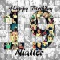 NIall Horan Happy birthday, 2012