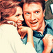Nathan&Stana - nathan-fillion-and-stana-katic icon