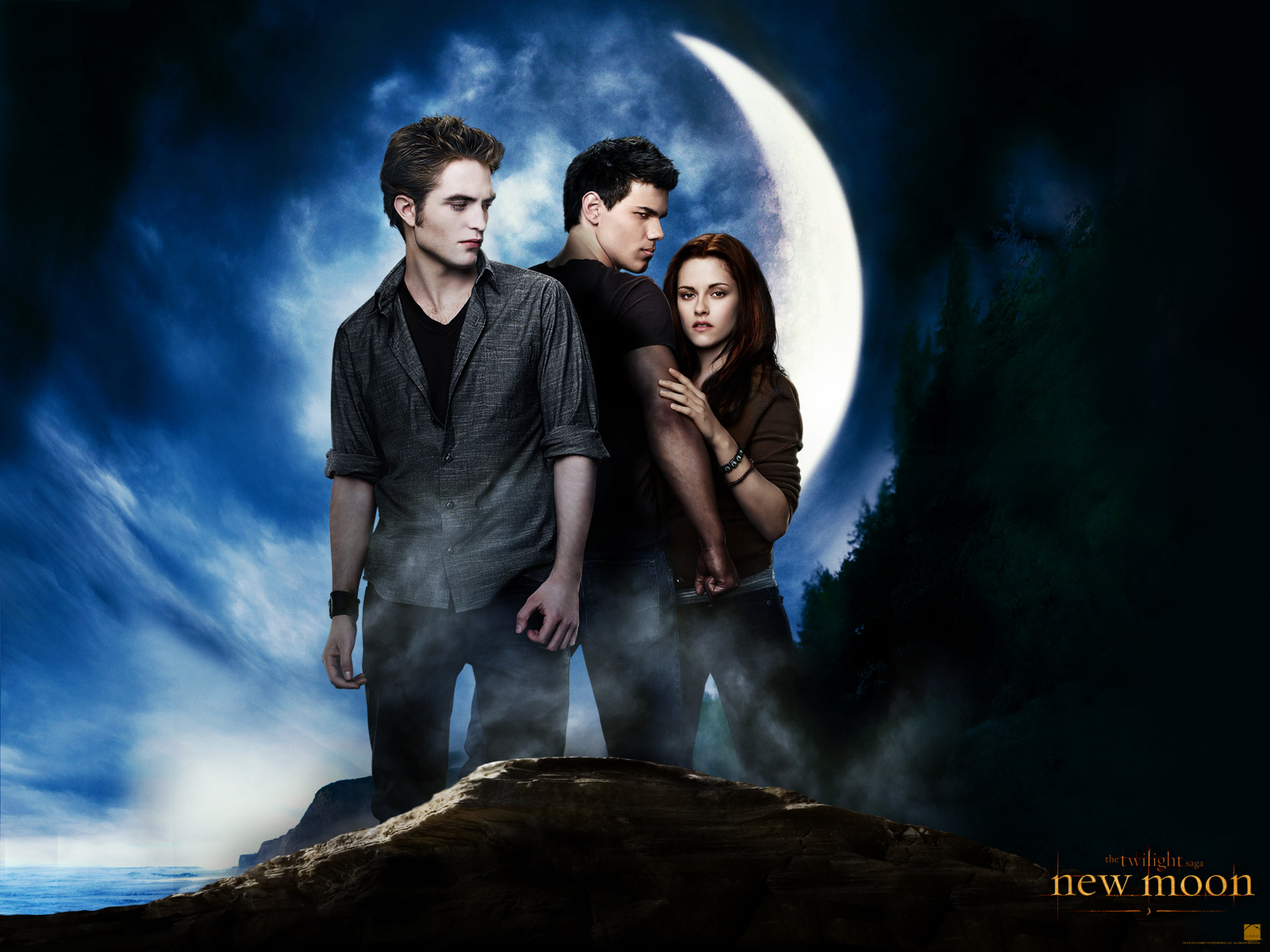 New Moon Wallpaper - New Moon Movie Wallpaper (32147436) - Fanpop