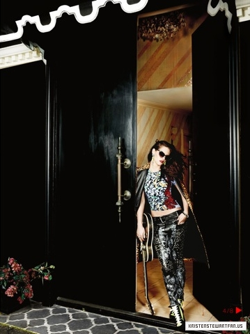 "New outtakes of Kristen for ""Vogue"" UK - September 2012."