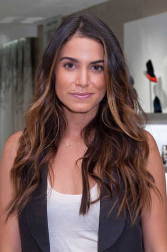 Nikki shopping at Saks Fifth Avenue in New York - {06/09/12}.