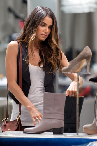 Nikki shopping at Saks Fifth Avenue in New York - {06/09/12}. - nikki-reed Photo