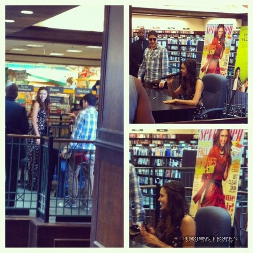 Nina Dobrev September 15th: Seventeen Magazine Cover Signing Event