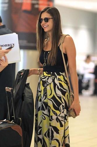 Nina arriving in Canada