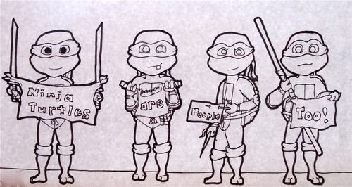 Ninja Turtles Are People Too