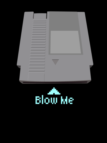 nintendo cartucho - Blow Me!