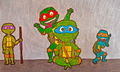 Not So Picture Perfect  - tmnt fan art
