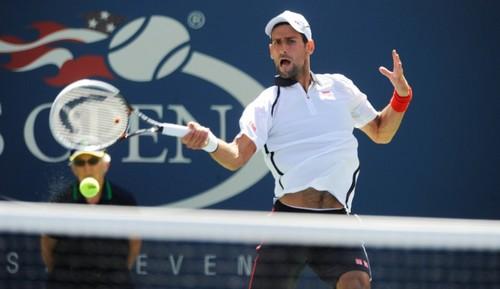 Novak defeats Ferrer US Open 2012 Semifinal