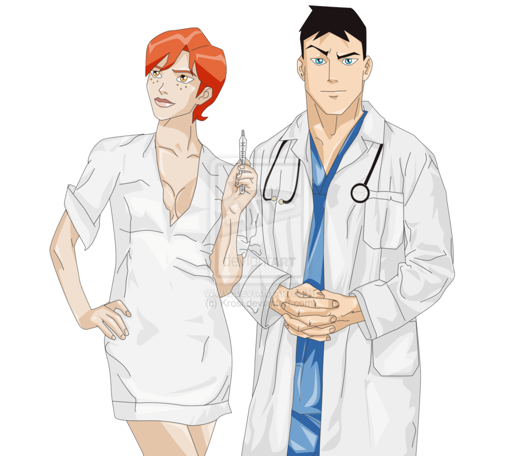 Young Justice Nurse Morse and Dr Kent