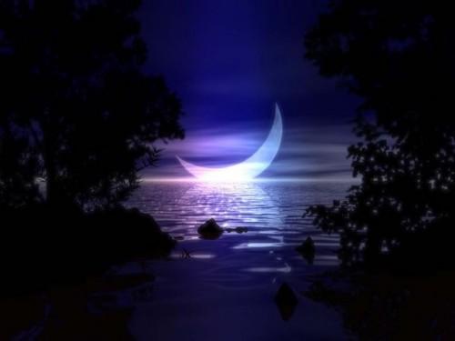 Ocean with Moon