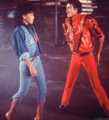Ola ray and Michael Jackson - Thriller ♥♥