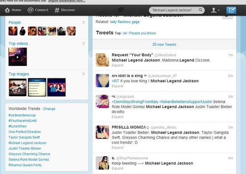 One Direction, Taylor Swift, Michael Jackson, Justin Bieber and Rihanna BEST TREND ALL TOGETHER-2012