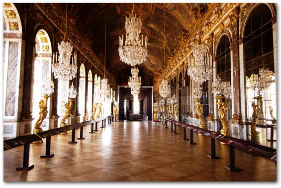 Palace of Versailles - palaces Photo