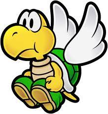 Parakoopa in Paper Mario