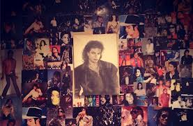 Paris' picha Collage Tribute To Her Father, Michael Jackson
