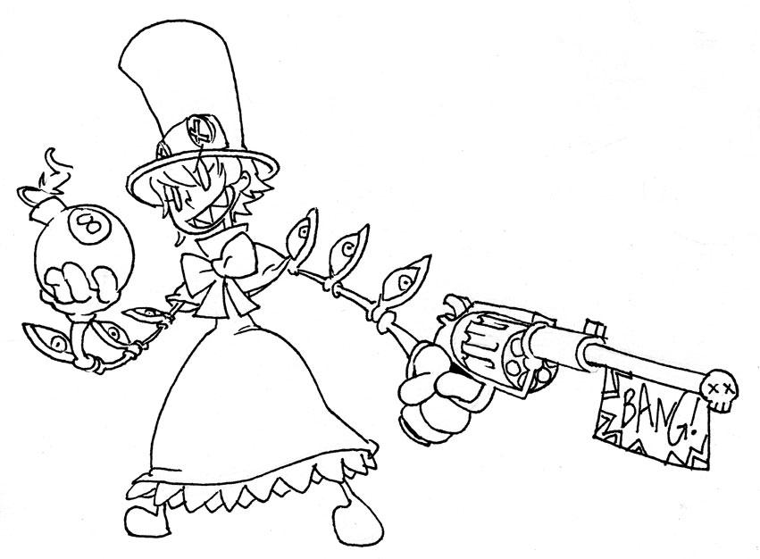 Skull girls characters coloring pages ~ Peacock - Skullgirls Photo (32193417) - Fanpop
