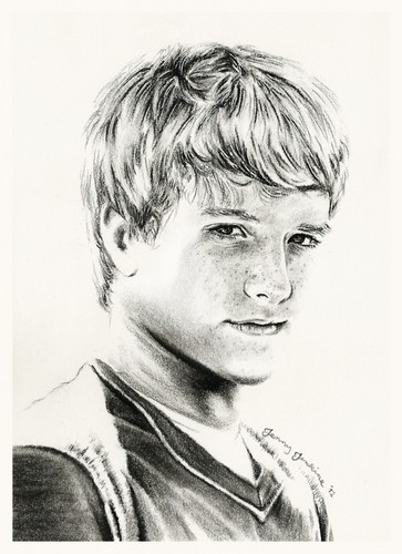 Peeta Mellark drawing by Jenny Jenkins