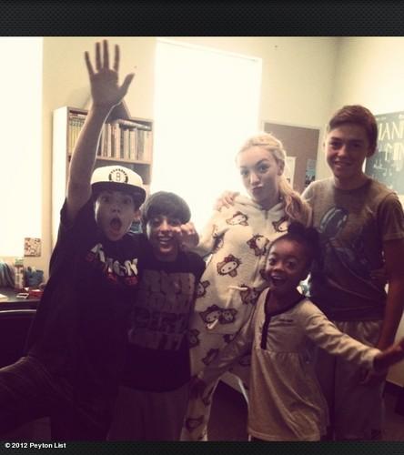 Cameron,Karan,Peyton Skai & Spencer
