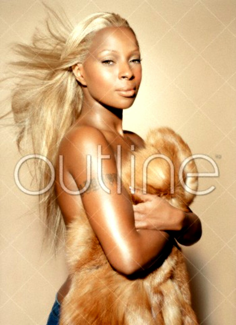 mary j blige and nude