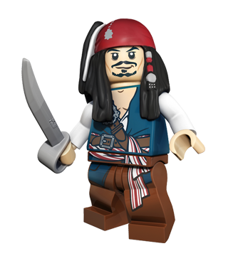 Pirate Lego Charachter