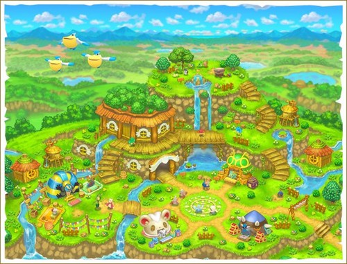 Pokemon Mystery Dungeon Magnagate and the Infinite Labyrinth Map