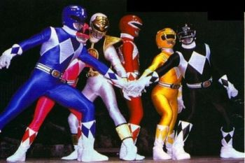Power Rangers - Mighty Morphin