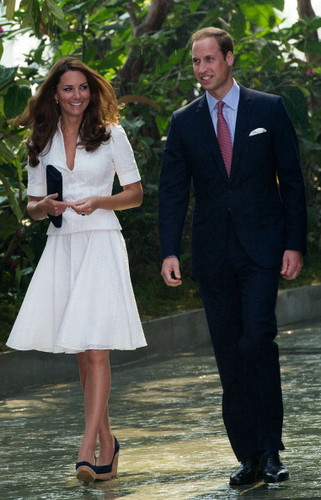 Prince William & Catherine in Singapore
