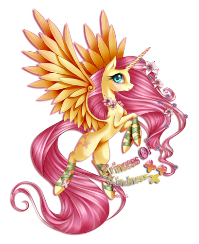 My Little ngựa con, ngựa, pony - Friendship is Magic hình nền containing a bouquet called Princess Of Kindness