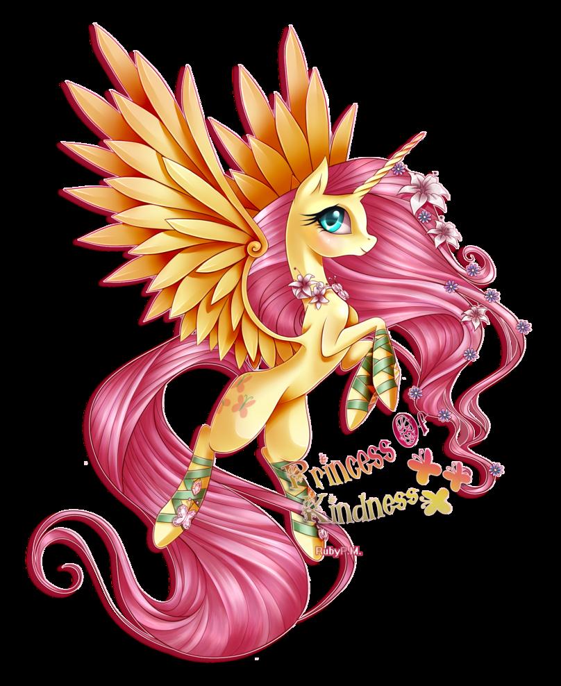 My Little Pony Fluttershy as a Princess