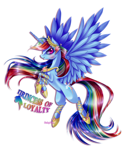 My Little pony Friendship is Magic achtergrond entitled Princess Of Loyalty