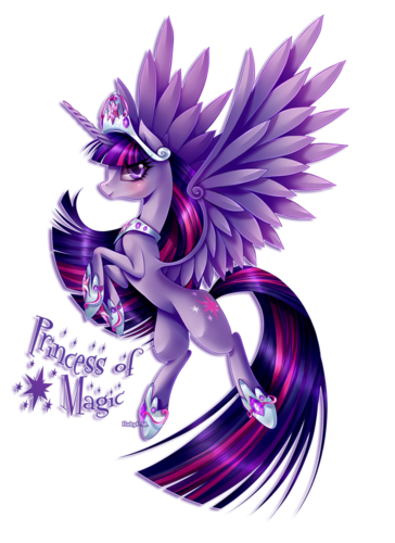 My Little Pony Friendship is Magic wallpaper called Princess Of Magic