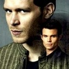 Vampire Diaries – Fernsehserie Foto containing a portrait titled Promo - Original Brothers