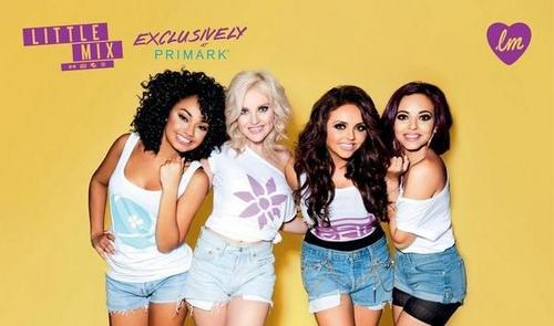 maliit na ihalo wolpeyper containing a portrait entitled Promo shot | Little Mix's collection for Primark | 2012.