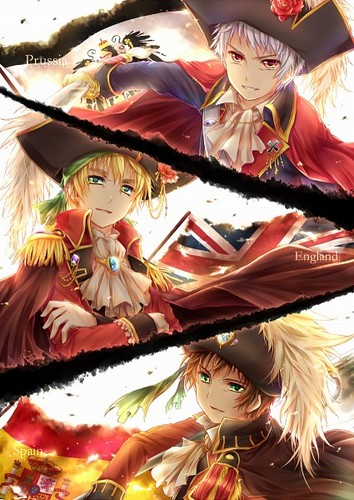 Prussia, England, and Spain