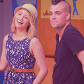 Quinn and Puck.