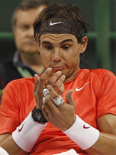 Rafa Nadal - not count on me in tenis