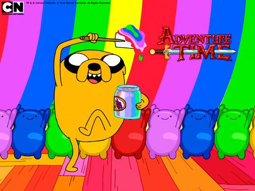 arco iris, arco-íris Jake
