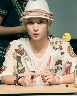 NU'EST Hintergrund possibly with a portrait entitled Ren