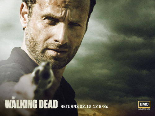 The Walking Dead karatasi la kupamba ukuta called Rick Grimes