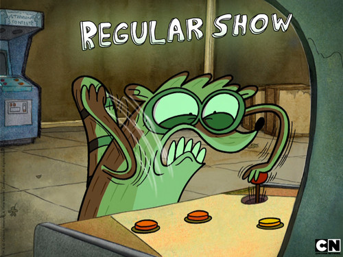 Regular mostra wallpaper titled Rigby