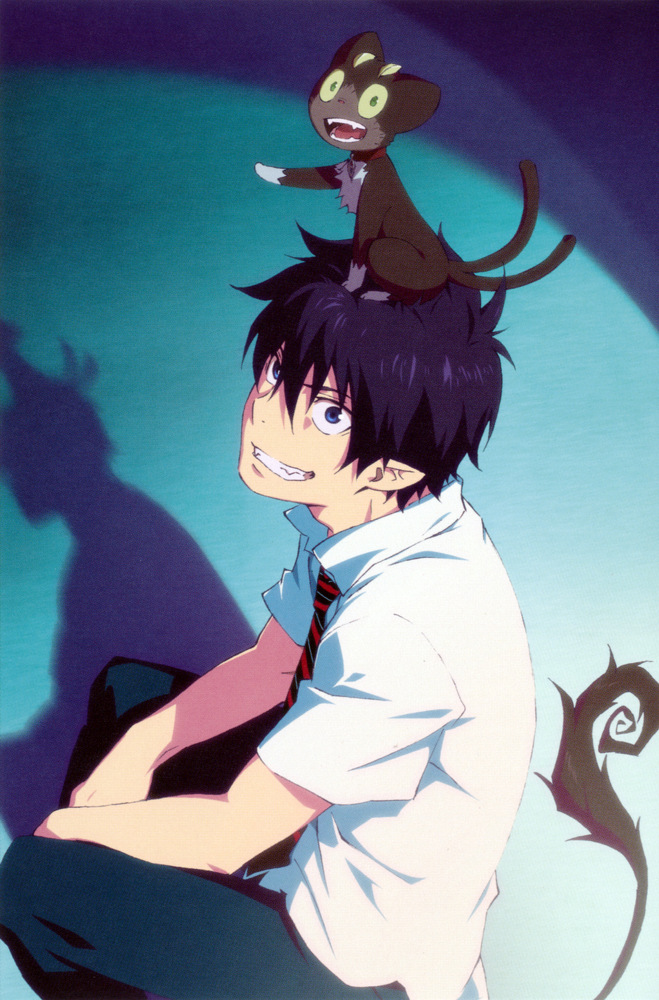 blue exorcist rin okumura - photo #3